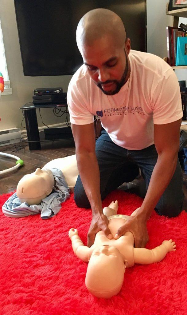 Cours secourisme bébé